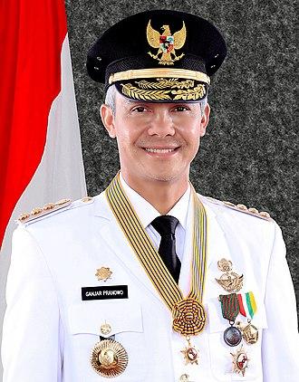 Ganjar Pranowo - Image: Ganjar Pranowo, Gubernur Jateng Periode II