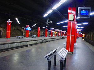 Avenue Henri Martin (Paris RER) - Platforms