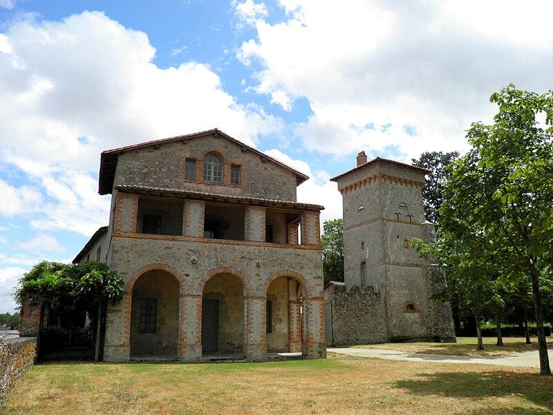 House of the gardener - Park of La Garenne Lemot, Clisson-Gétigné, Loire-Atlantique, France