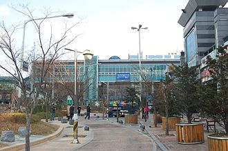 Geumcheon District - In front of Gasan Digital Complex Station