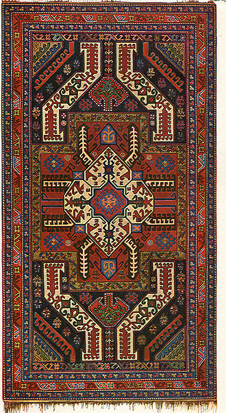"Gasimushaghi carpets - Azerbaijani ""Gasimushaghi carpet"" of the Karabakh School, late 19th century"