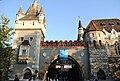 Gate of Vajdahunyad Castle.jpg