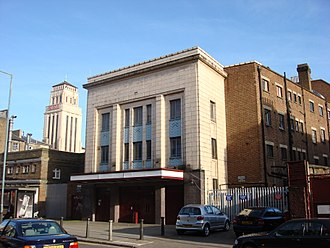 Gaumont State Cinema - The former 3rd class entrance of Gaumont State Cinema
