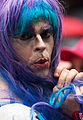 Gay pride - Blue hair (14348439288).jpg