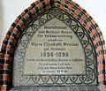 Gedenktafel Karl-Schrader-Str 7 (Schöb) Maria Elisabeth Wentzel.JPG