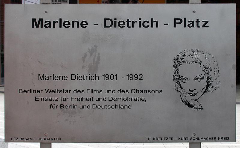 Marlene-Dietrich-Platz 1 10785 Berlin