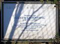 Gedenktafel Marthastr 5 (Lichf) Gustav Lilienthal.JPG