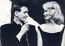 Hagge Geigert och Monica Zetterlund.
