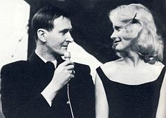 Hagge Geigert og Monica Zetterlund.