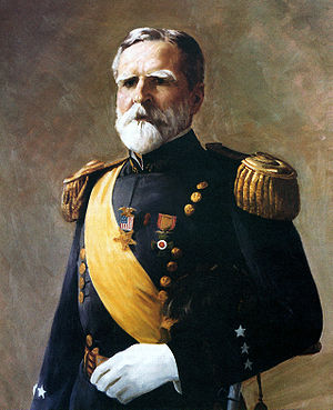 John C. Bates - General John C. Bates, official portrait by Cedric Baldwin Egeli
