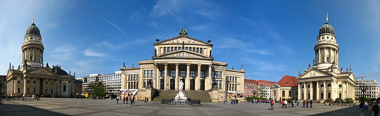 gendarmenmarkt wikipedia la enciclopedia libre. Black Bedroom Furniture Sets. Home Design Ideas