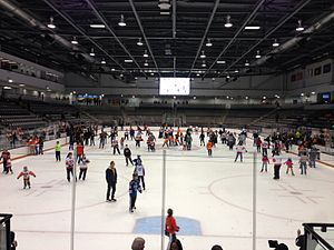 Gene Polisseni Center - Gene Polisseni Center during an open skate