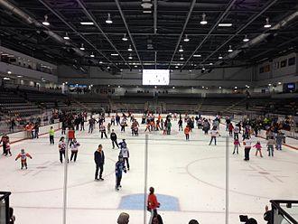 Gene Polisseni Center - Gene Polisseni Center during an open skate