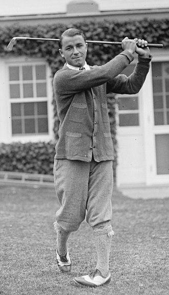 Gene Sarazen - Sarazen in 1922
