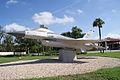 General Dynamics F-16A Fighting Falcon 81-0721 Block 15 LSideFront MacDill Air Park 24July2010 (14607617576).jpg