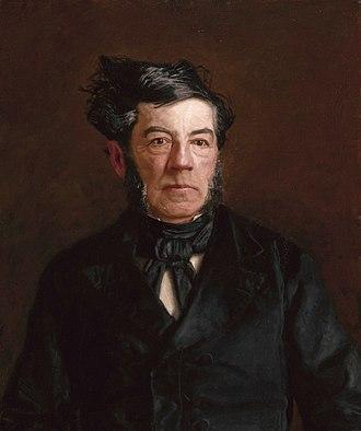 George Cadwalader - Portrait of Cadwalader by Thomas Eakins