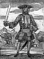General History of the Pyrates - Blackbeard the Pirate (1725).jpg