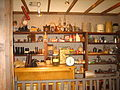 General store items at Window on the Plains Museum IMG 0586.JPG