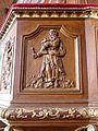 Gennes-sur-Seiche (35) Église Saint-Sulpice Intérieur Chaire 03.jpg