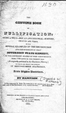 Genuine Book on Nullification, part 1.djvu