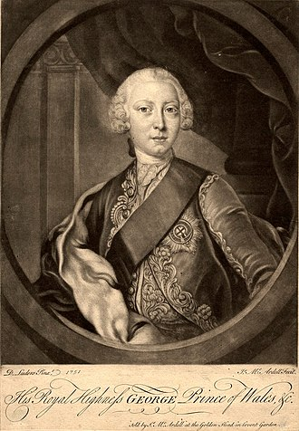 Duke of Edinburgh - Prince George was the second Duke of Edinburgh, before he became George III.