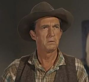 "George Mitchell (actor) - George Mitchell in TV's Bonanza, episode ""The Gunmen"" (1960)"