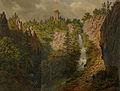 Georges Osterwald-Cascade et ruines du Nideck.jpg