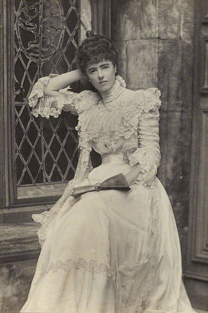 Georgina Ward, Countess of Dudley - The Dowager Countess, circa 1902, in a photo by Alice Hughes