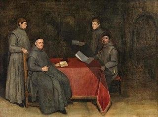 Four Franciscan Monks