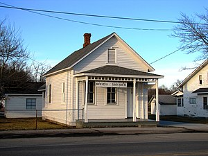 Allardt, Tennessee - The old Gernt land office