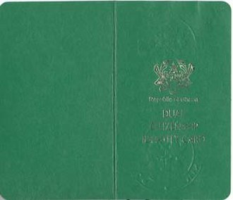 Ghanaian nationality law - Multiple Citizenship with Ghanaian passport Identity Document