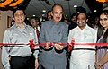 Ghulam Nabi Azad inaugurating the new office premises of the Department of AYUSH, in New Delhi. The Minister of State of Health and Family Welfare, Shri S. Gandhiselvan and the Secretary (AYUSH).jpg