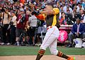 Giancarlo Stanton competes in final round of the '16 T-Mobile -HRDerby (28568338935).jpg