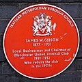 Gibson plaque (cropped).JPG