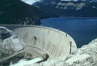 Gibson Dam Dam in Lewis and Clark/Teton Counties, Montana