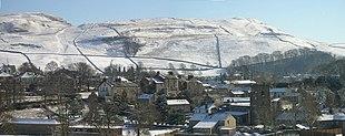 Giggleswick in snow