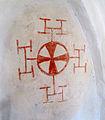 Gillberga kyrka i Södermanland 4347 kors i vapenhuset.jpg
