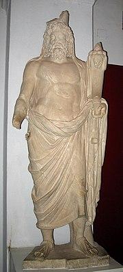 Saturno al Museo nazionale del Bardo, a Tunisi.