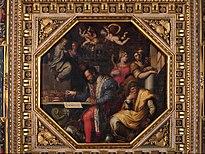 Giorgio Vasari - Cosimo studies the taking of Siena - Google Art Project