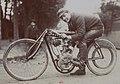 Giosuè Giuppone, ici au kilomètre de Dourdan en octobre 1906, sur Peugeot II V2 à pneus Le Lion (vainqueur en 28, à 128.571 kmh devant Cissac).jpg