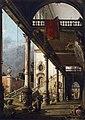 Giovanni Antonio Canal, il Canaletto - Perspective View with Portico - WGA03965FXD.jpg