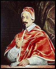 Portrait of Pope Alexander VII (Fabio Chigi)
