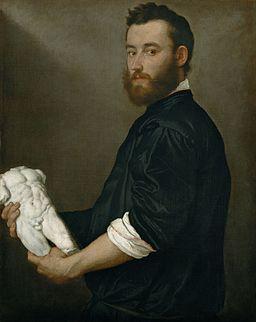 Giovanni Battista Moroni - The Sculptor Alessandro Vittoria - Google Art Project