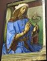 Giusto di gand e pedro berruguete, uomini illustri dallo studiolo di federico da montefeltro a urbino, 1473-76 ca., 07 tolomeo.JPG