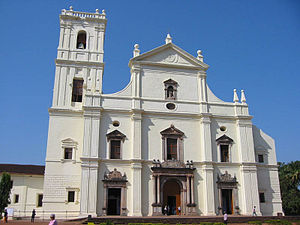 Goa cathedral