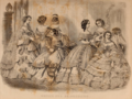 Godey's Lady's Book (1861) 11 - BRIDES AND BRIDESMAIDS.png