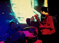 Godspeed You! Black Emperor live i London, England november 2000.