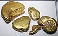 Gold fluvial pebbles (placer gold) (Washington State, USA) 8 (16847313598).jpg
