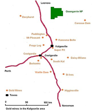 Super Pit gold mine - Gold mines in the Kalgoorlie region