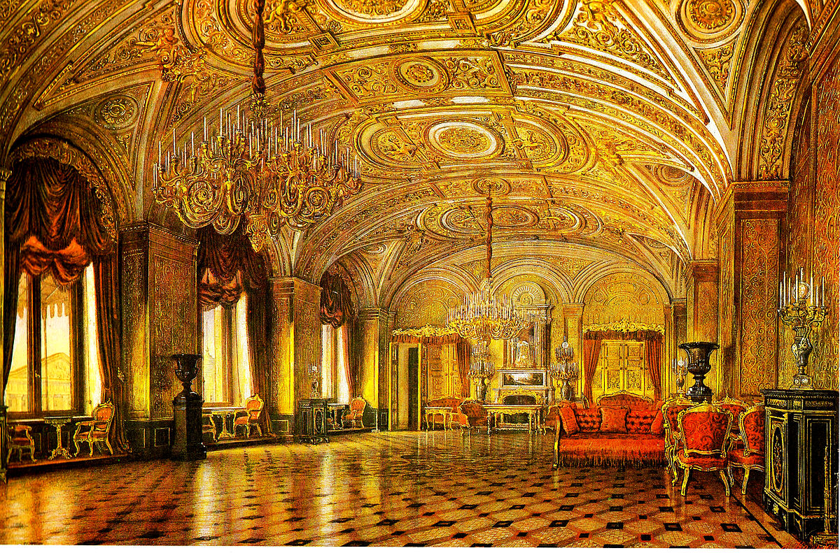 Gold Drawing Room Of The Winter Palace Wikipedia